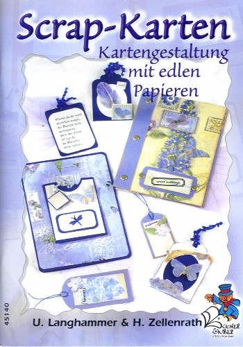 Buch Scrap-Karten