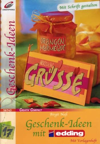 Buch Geschenk-Ideen mit Edding