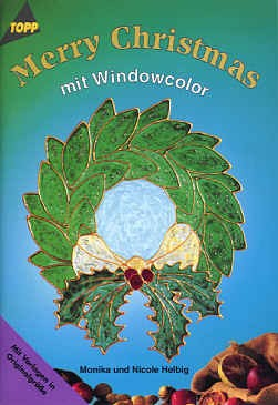 Bastelbuch Merry Christmas mit WindowColor