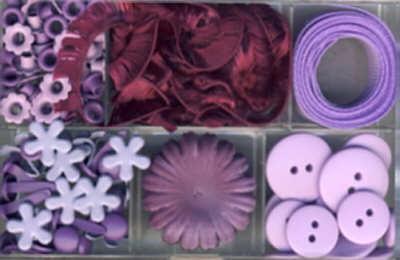 Embellishment Kit lila