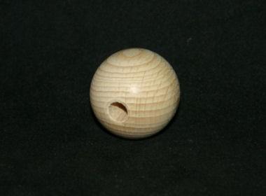 Holzperle natur 35mm