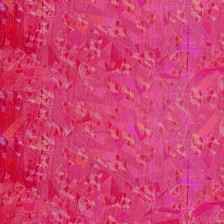 Wachsplatte 20x10cm irisierend rot