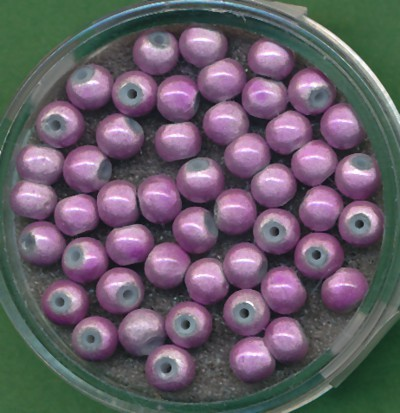 Miracle-Beads 4mm hell lila