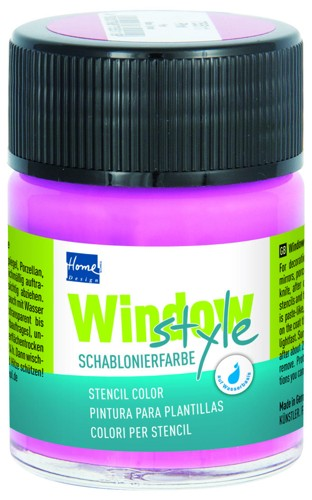 Window-Style-Schablonierfarbe