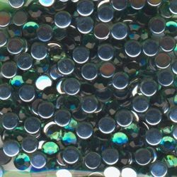 Schmucksteine 6mm grün