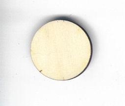 Holz-Deko Scheibe 35mm
