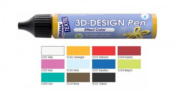 JAVANA Textil 3D-Design Pen