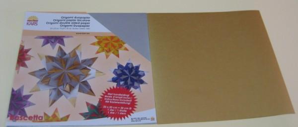 18585110_Bascetta-Sterne-DUO-Papier-silber-gold-20x20cm-30-Blatt-70g