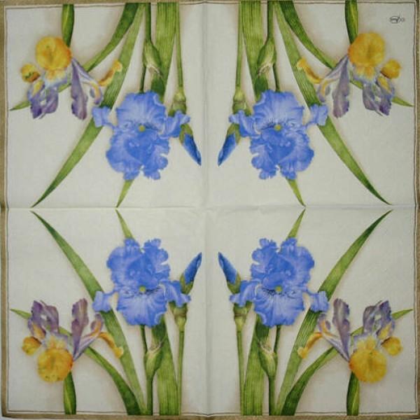 Serviette Iris
