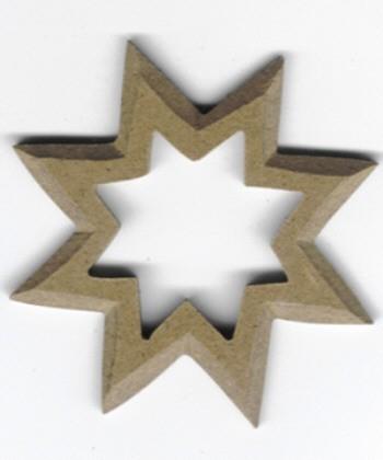 Holz-Dekor Stern