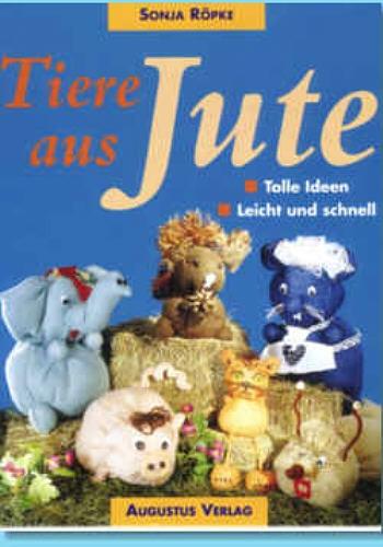 Buch Tiere aus Jute