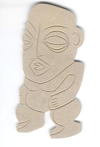 Holz-Dekor Afrikanische Skulptur