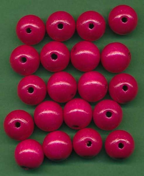 1401235_Speichelfeste-Holzperlen-14mm-pink-18-Stück