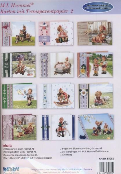 M. I. Hummel Karten mit Transparentpapier 2