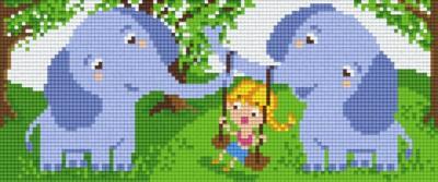 px803026_Pixelset-Elefanten-mit-Kind