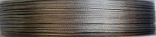 Draht nylonbeschichtet 0,45mm silber