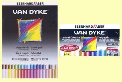 Pastell-Ölkreiden Malset Van Dyke