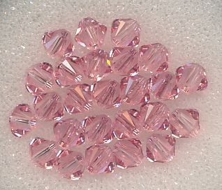 Swarovski Glasschliffperlen 4mm light rose
