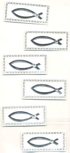 hf3453014 Creapop Sticker Fische silber
