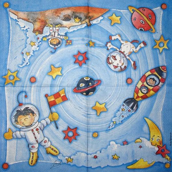 Serviette Astronaut Fluppy