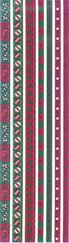Ribbon Sticker weihnachtlich 1