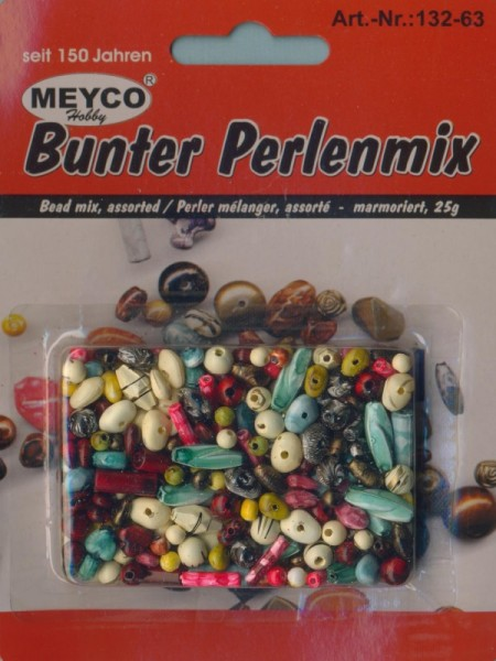 13263_Bunter-Perlenmix-marmoriert-25g