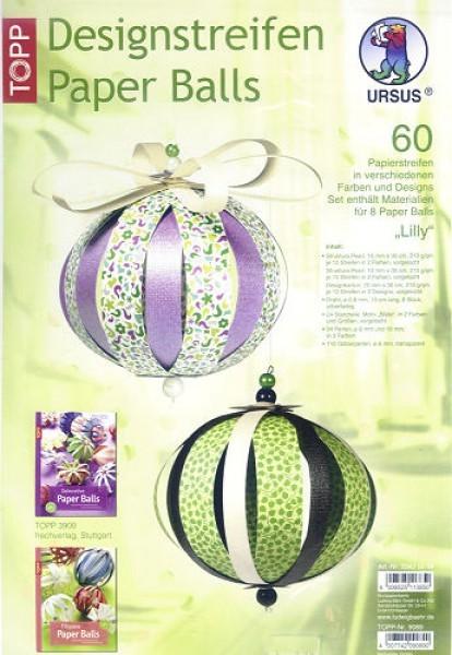 Paper Balls-Set Lilly