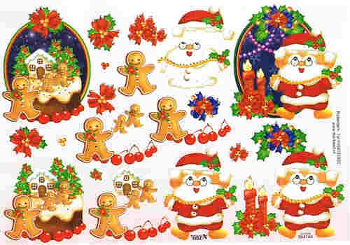 Motivbogen Weihnachten