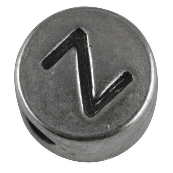 Rockstars Perle Z 7mm silber