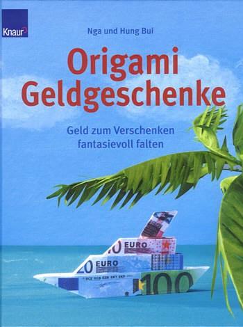 Buch Origami Geldgeschenke