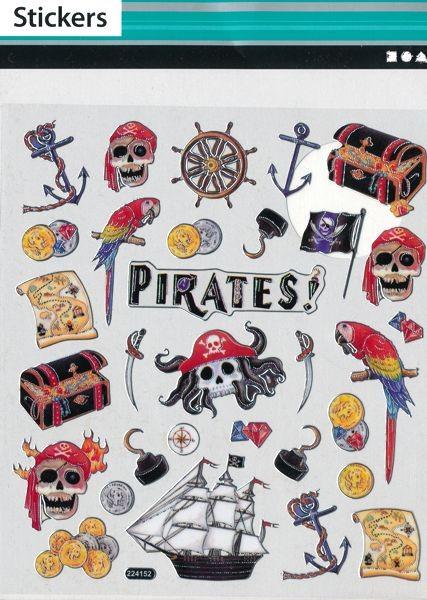 Fancy Sticker Piraten
