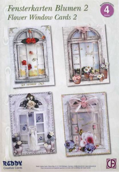 Fensterkarten Blumen 2