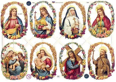 Poesiebilder Heiligenbilder