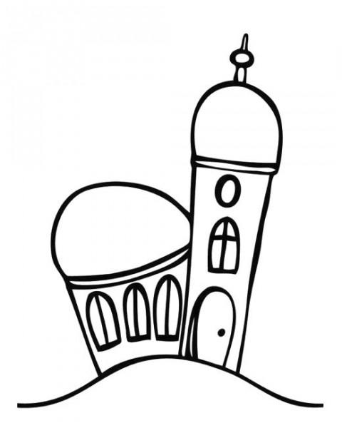 "Stempel ""Kirche klein"""