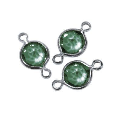 Swarovski Schmuck-Accessoires rund grün