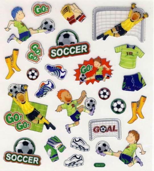 Design Sticker Fussball
