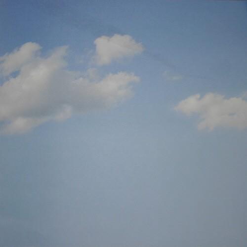 Scrapbook-Blatt Blauer Himmel