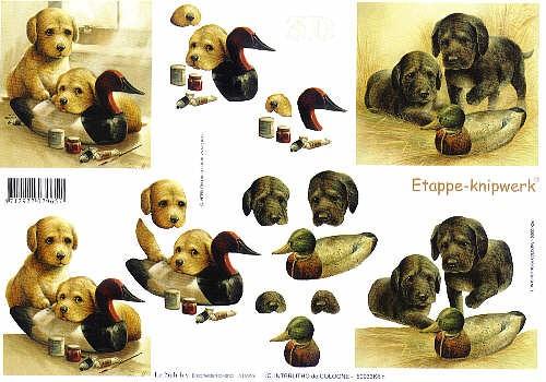 Motivbogen Loveley Dogs