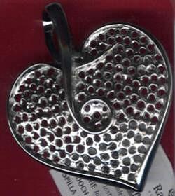 Broschenplatine Herz