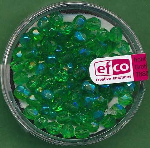 2110065_Glasschliffperlen-4mm-irisierend-grün-100-Stück