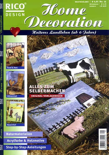 Buch Home Decoration Landleben