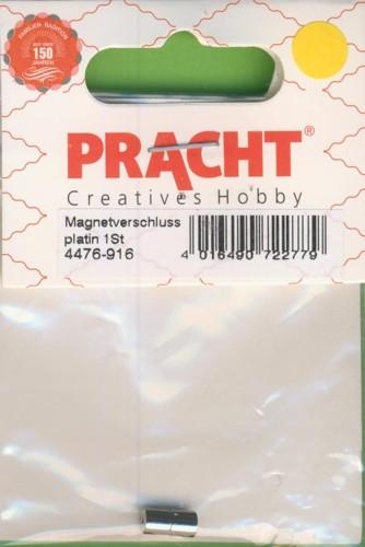 Magnetverschluss 9mm platin