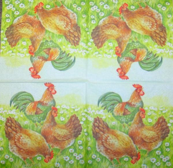 8239400_Serviette-Hühner