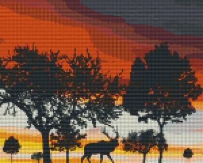 809303_Pixelset-Abenddämmerung