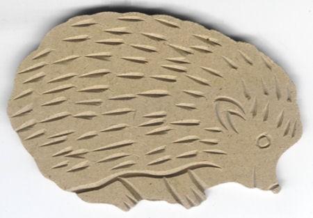 Holz-Dekor Igel 13x9x0,5cm