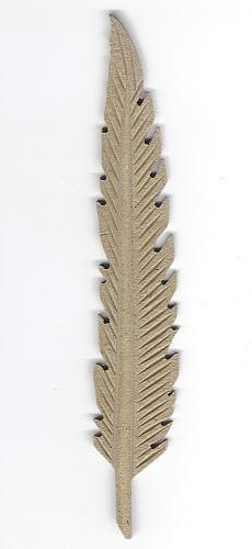 Holz-Dekor Feder