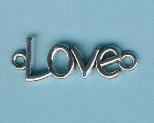 cmp0091_Armbandelement-Love-39x12mm-silber