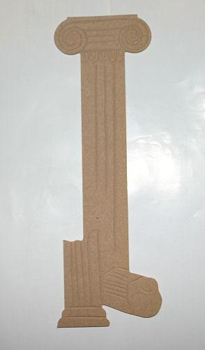 Holz-Dekor Griechische Säule
