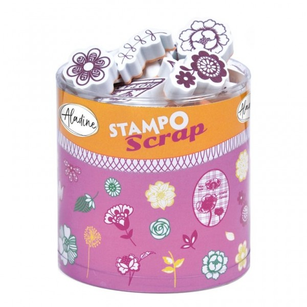 4550305_Stampo-Scrap-Stempelset-Blumen
