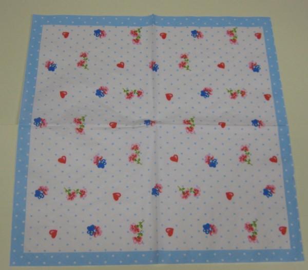 1661429_Serviette-Herzen-und-Blumen-weiß-hellblau